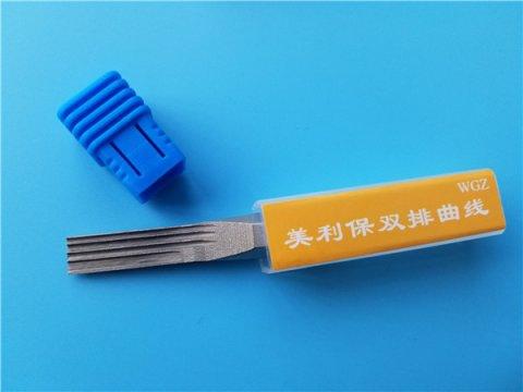 ab平口咔吧锁锡纸工具使用方法
